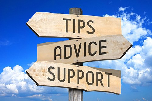 Tips Advice Support