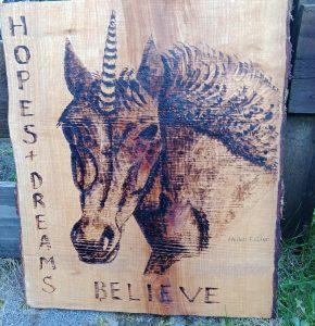 Hopes and dreams unicorn