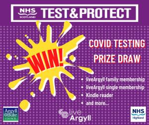 Live Argyll prize draw