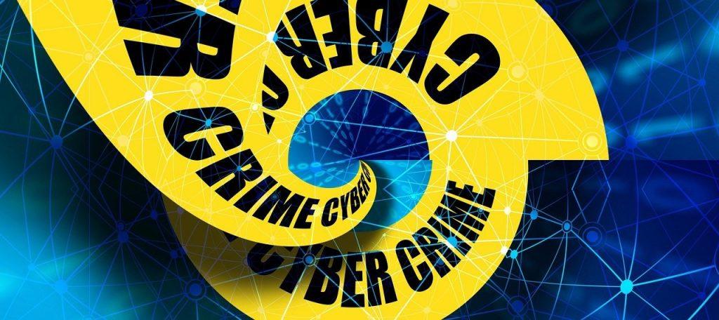 Yellow swirl reading cyber crim