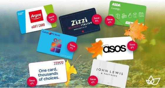 Brand names including John Lewis, Argo, Asda and Tesco
